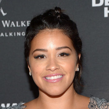 Gina Rodriguez wore the cutest star-print dress and we are here for it!