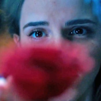 "Our first Glimpse of Emma Watson as Belle in ""Beauty and the Beast"" is here — kind of"