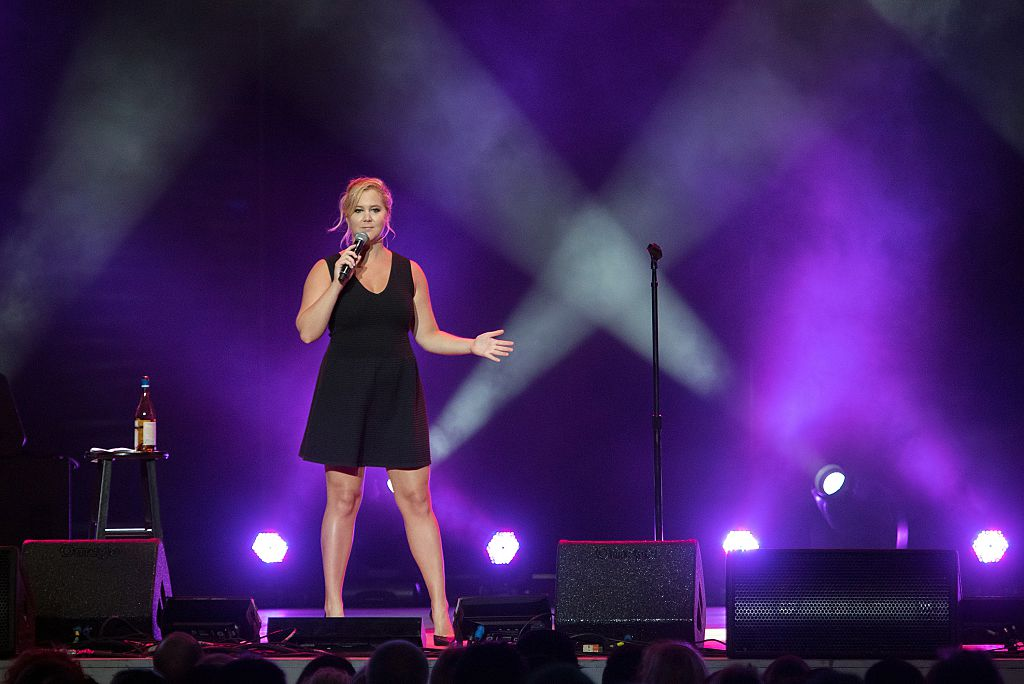 Amy Schumer slams sexist heckler at her stand up show in Sweden