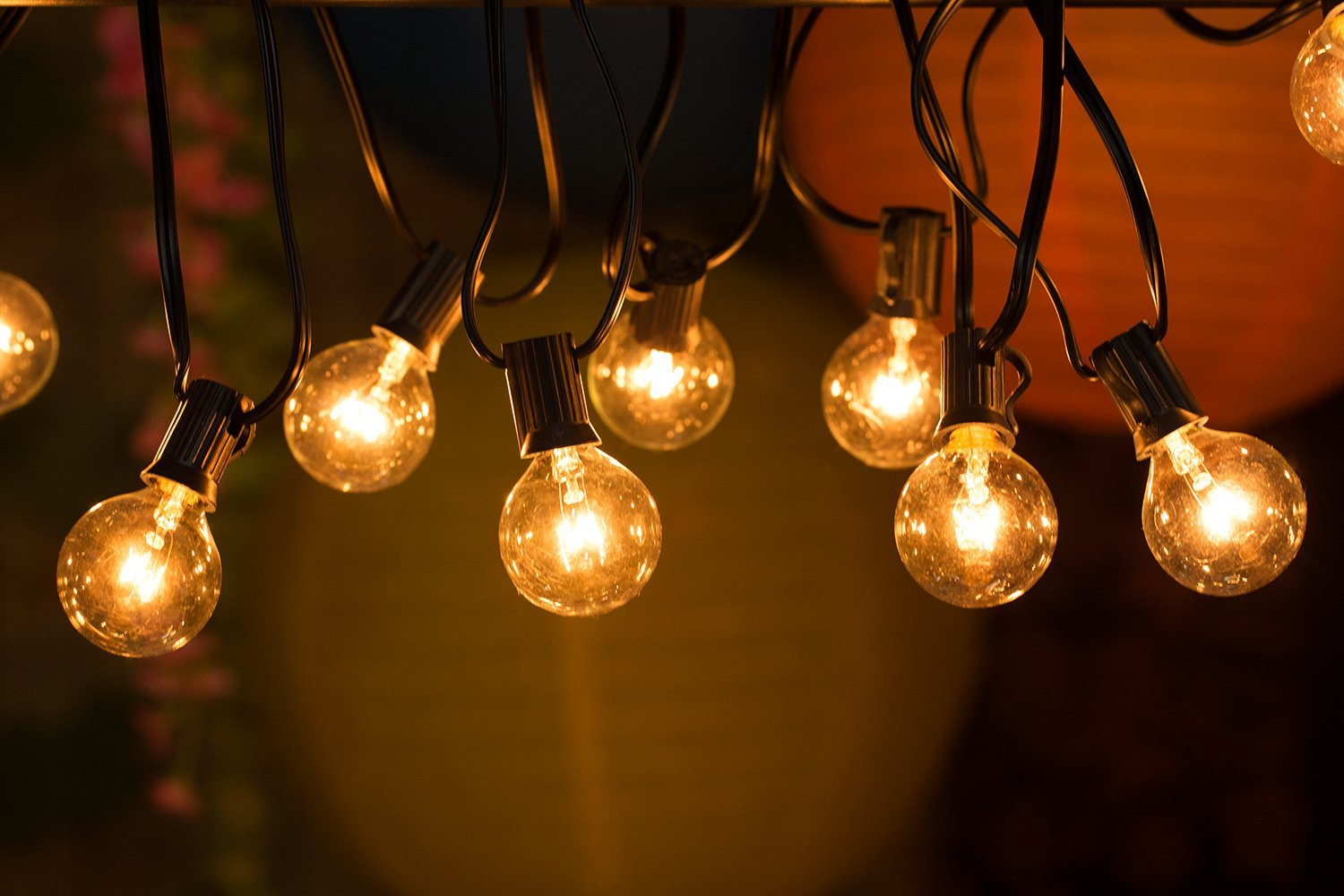 String Lights Green : Small additions to your dorm that will make it feel cozy AF