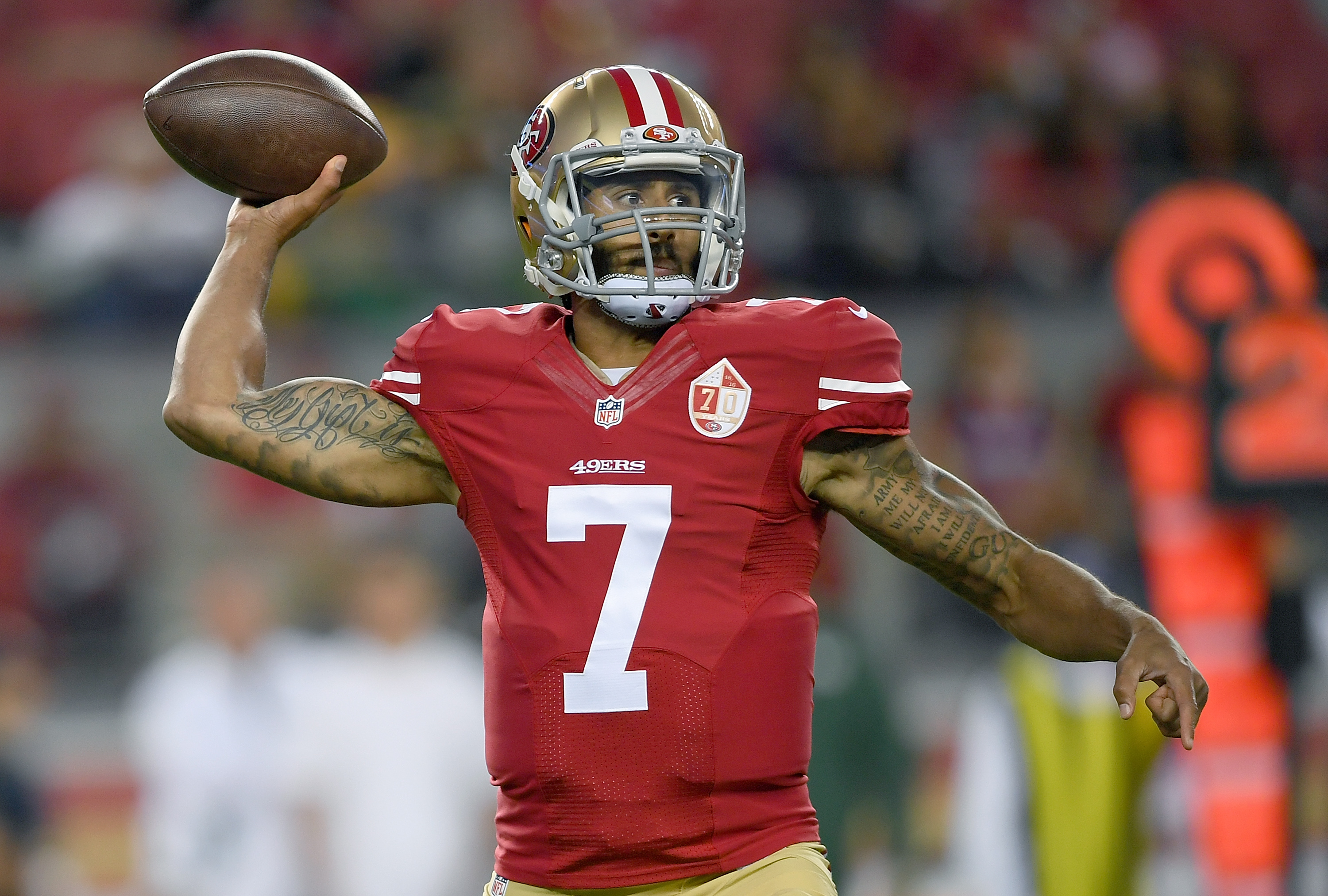 Colin Kaepernick continued his protest of the National Anthem — and more players joined in