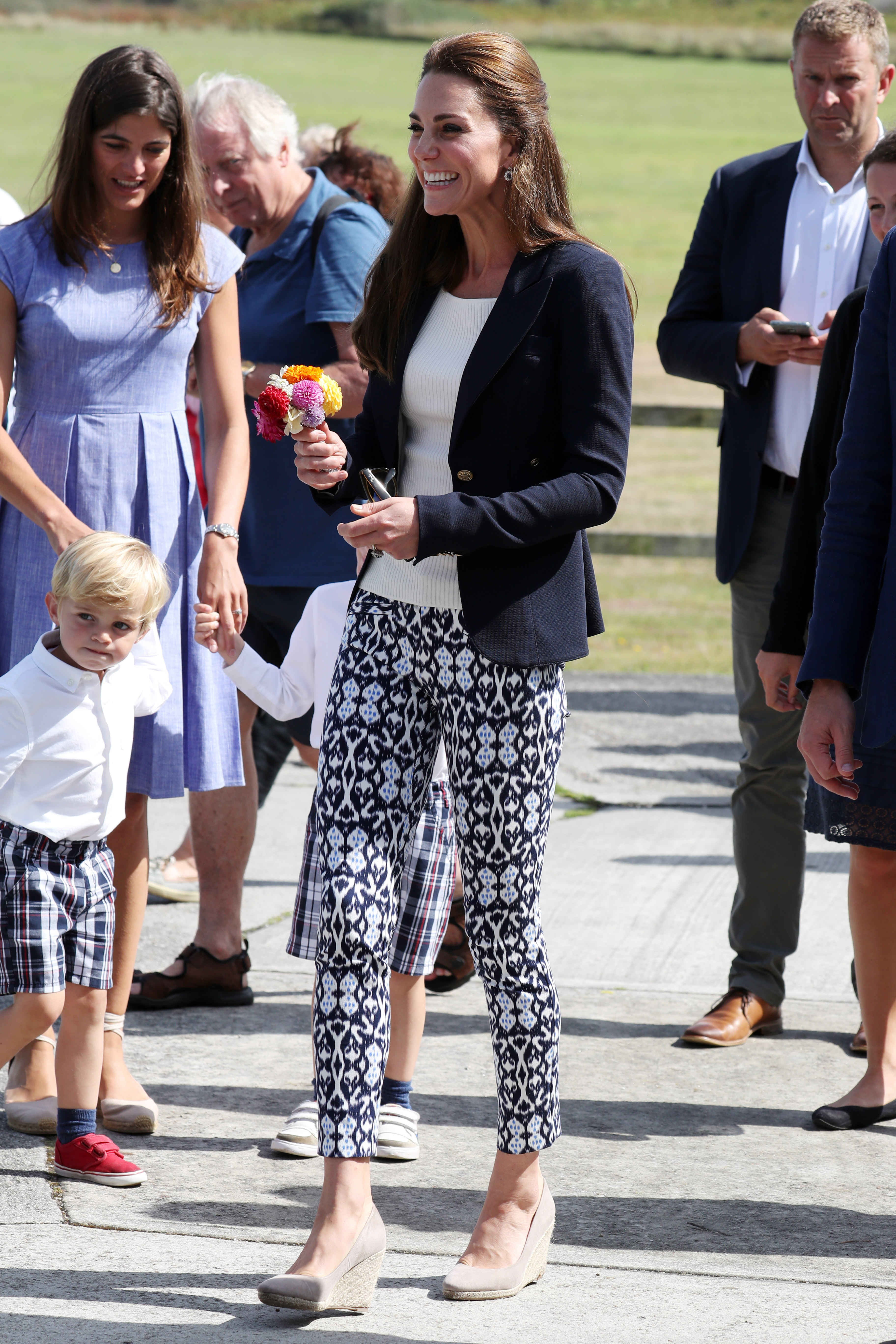 Princess Kate Middleton Just Wore These 30 Ankle Pants
