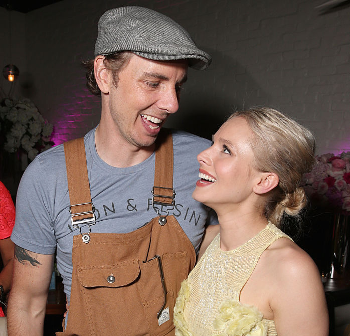 Dax Shepard celebrates being sober for 12 years with a tweet about Kristen Bell and their daughters