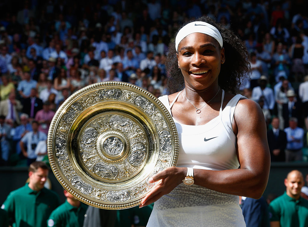 Serena Williams has officially won the most matches at a major tournament because she slays