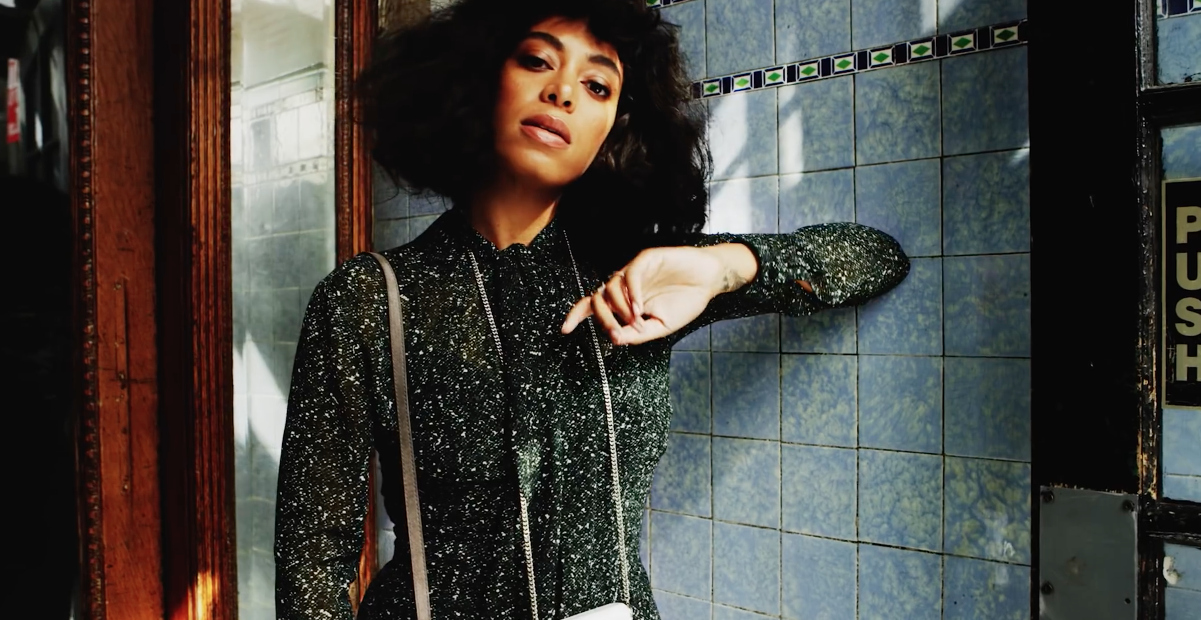 Solange is the new face of Michael Kors' The Walk campaign, and it's 100% our fall aesthetic