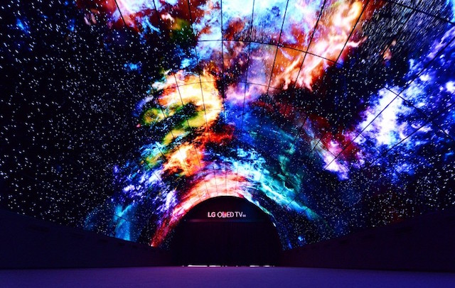 This incredible tunnel takes you to the depths of space and we wanna go