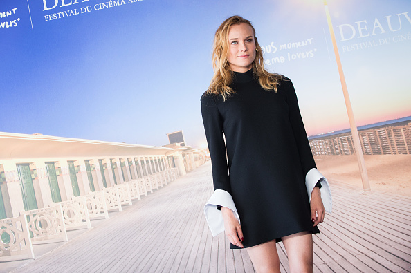 Diane Kruger has ditched having a stylist, and for a cool reason!