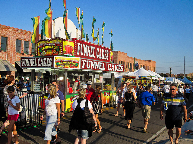 "We're cracking up over this ""Fair Food"" idea generator because now we want to try everything"