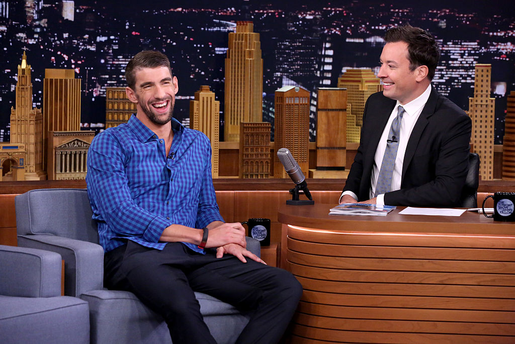 Michael Phelps just explained the hilarious reason he named his son Boomer