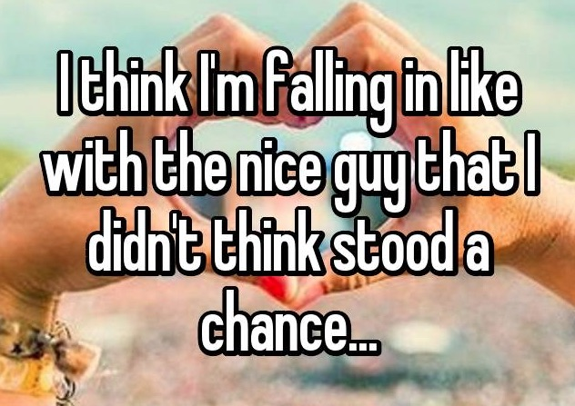 """16 real women talk about giving """"the nice guy"""" a chance"""