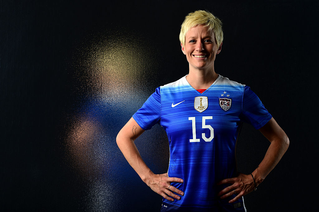 A female US soccer star has just joined Colin Kaepernick's protest