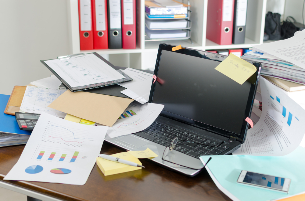 Is your desk always a mess? Science says there's a definite reason why!