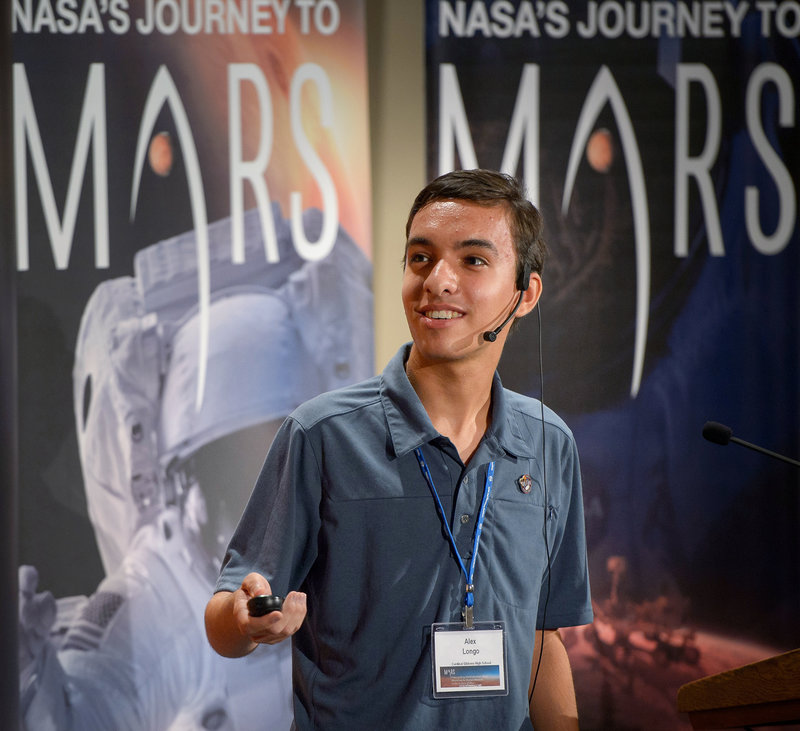 The landing site for the next Mars rover might be picked by a teenager