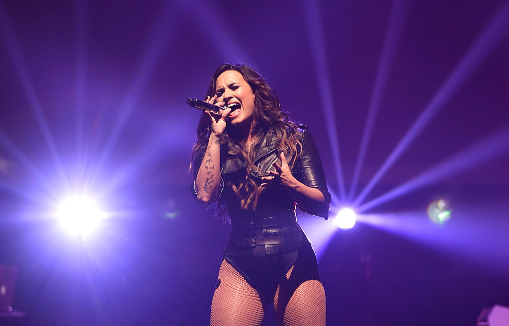 Demi Lovato just covered an Adele song and we can die happy now