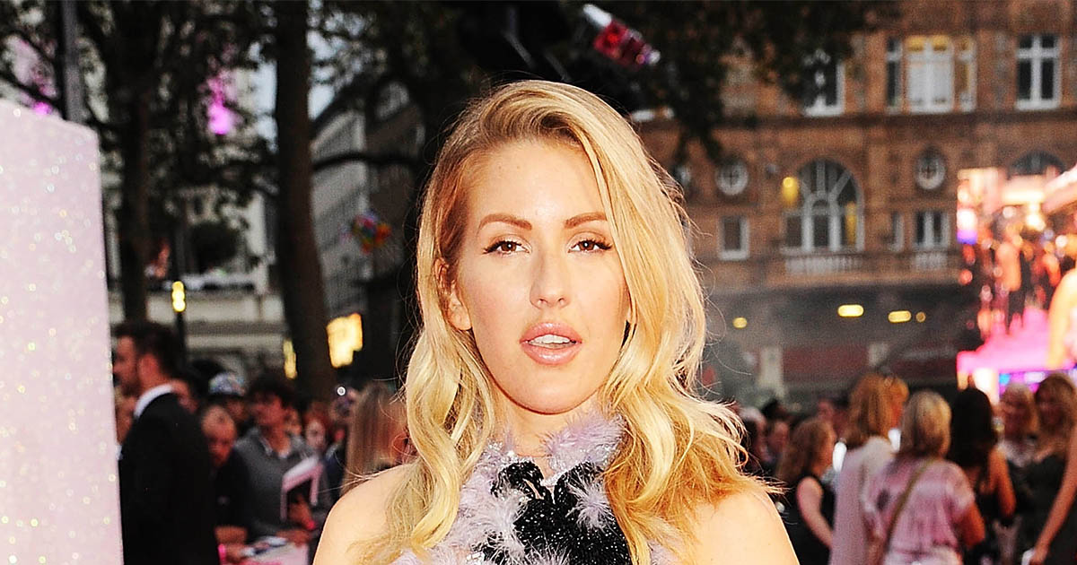 "Ellie Goulding looks like a beautiful bird with latest ""red"" carpet lewk"