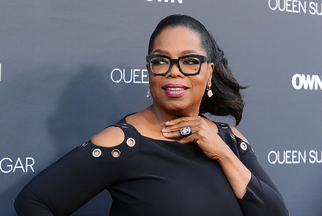 Oprah's response to wedding rumors is relatable AF