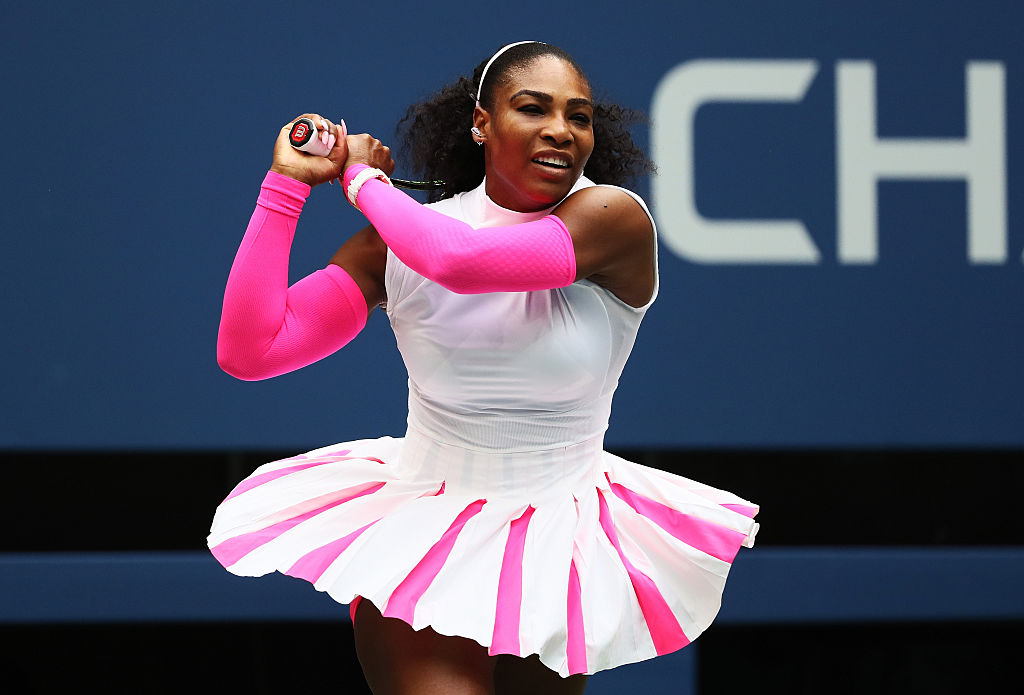 Girl Power Alert: Serena Williams has officially won the most matches of any tennis player in a major tournament