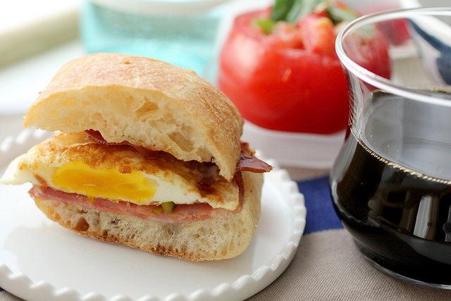 This is the most pinned breakfast sandwich on Pinterest