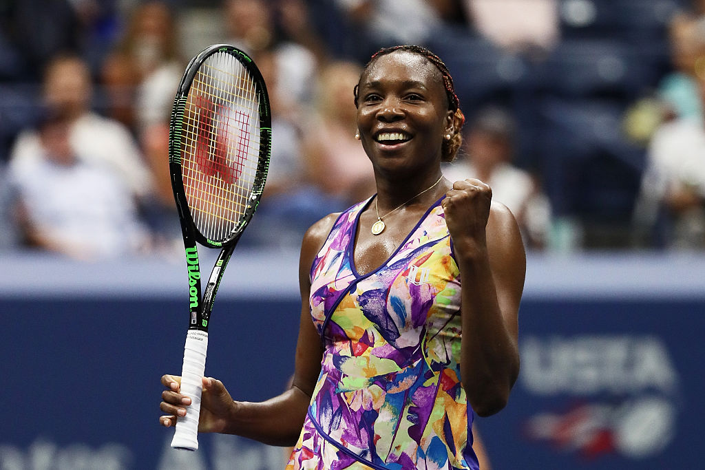 Venus Williams is a fabulous tennis player AND the cutest dog mama ever