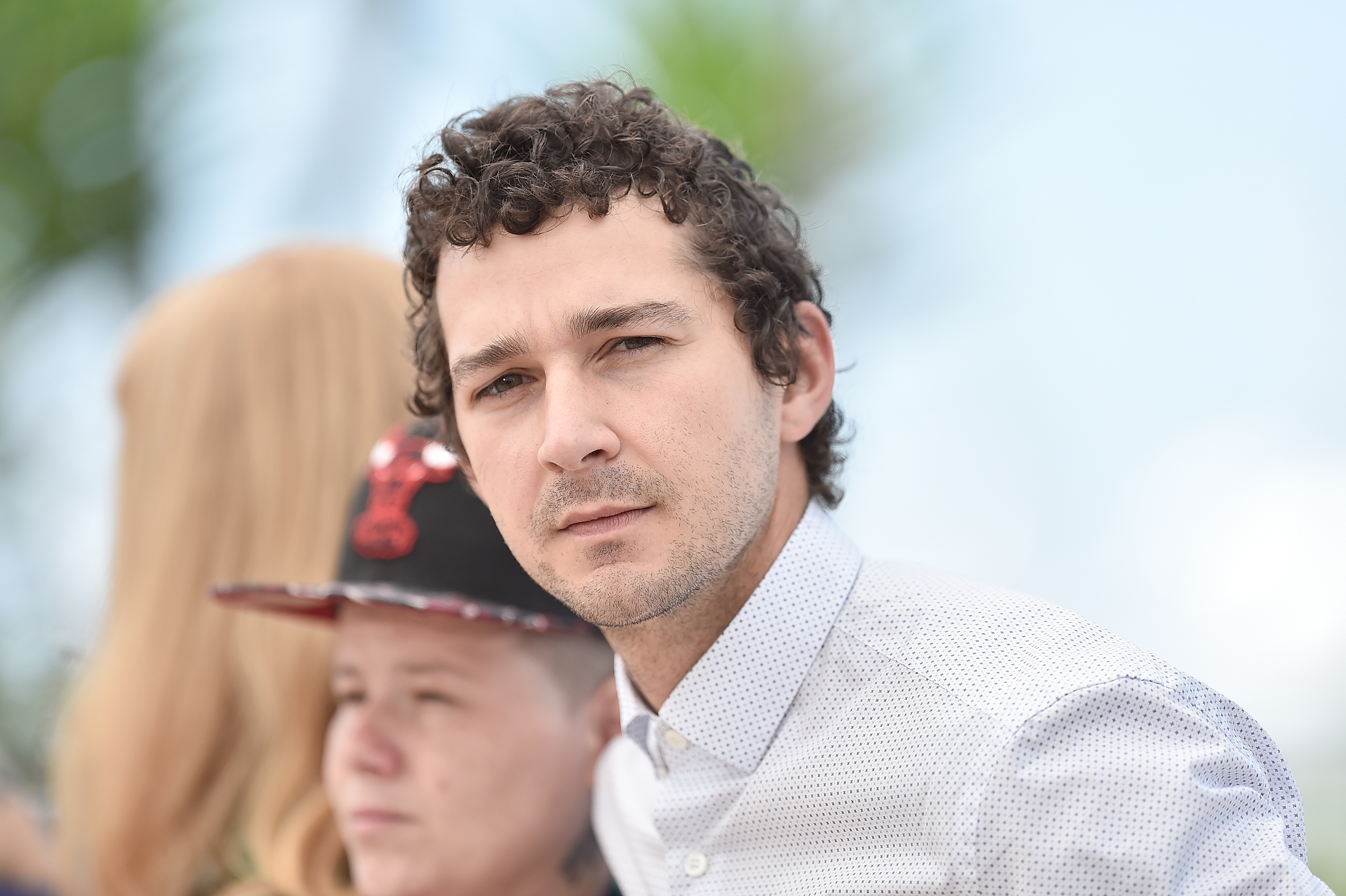 Shia LaBeouf  got 12 tattoos while filming his new movie (and two of them are of Missy Elliot)