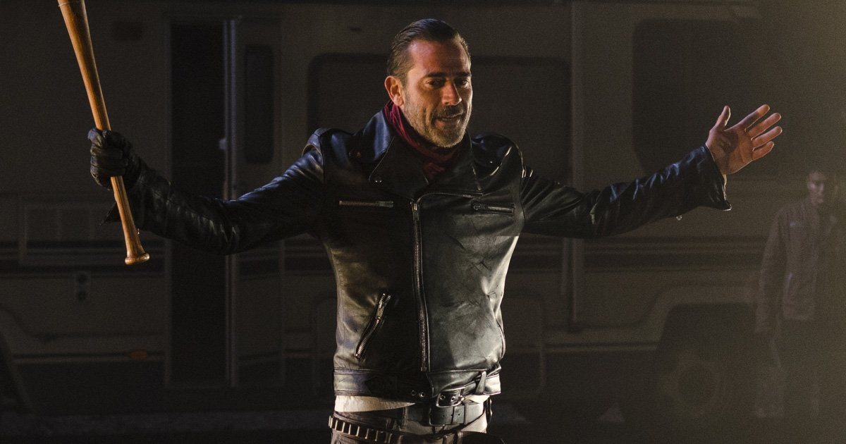 "This new ""Walking Dead"" trailer features ONLY Negan and Lucille, and we're very worried"