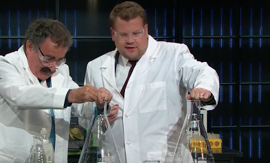 This guest on James Corden proves that science is cool AF