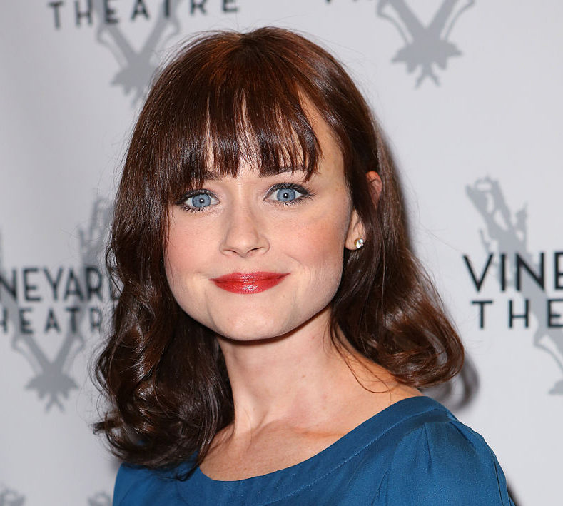 We can't get over how Gilmore Girl Alexis Bledel looks on her first red carpet