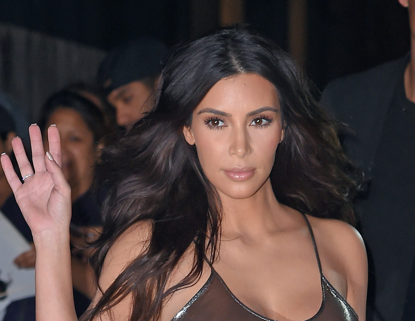 Nobody can stop talking about Kim Kardashian's sexy robot outfit, and we can see why