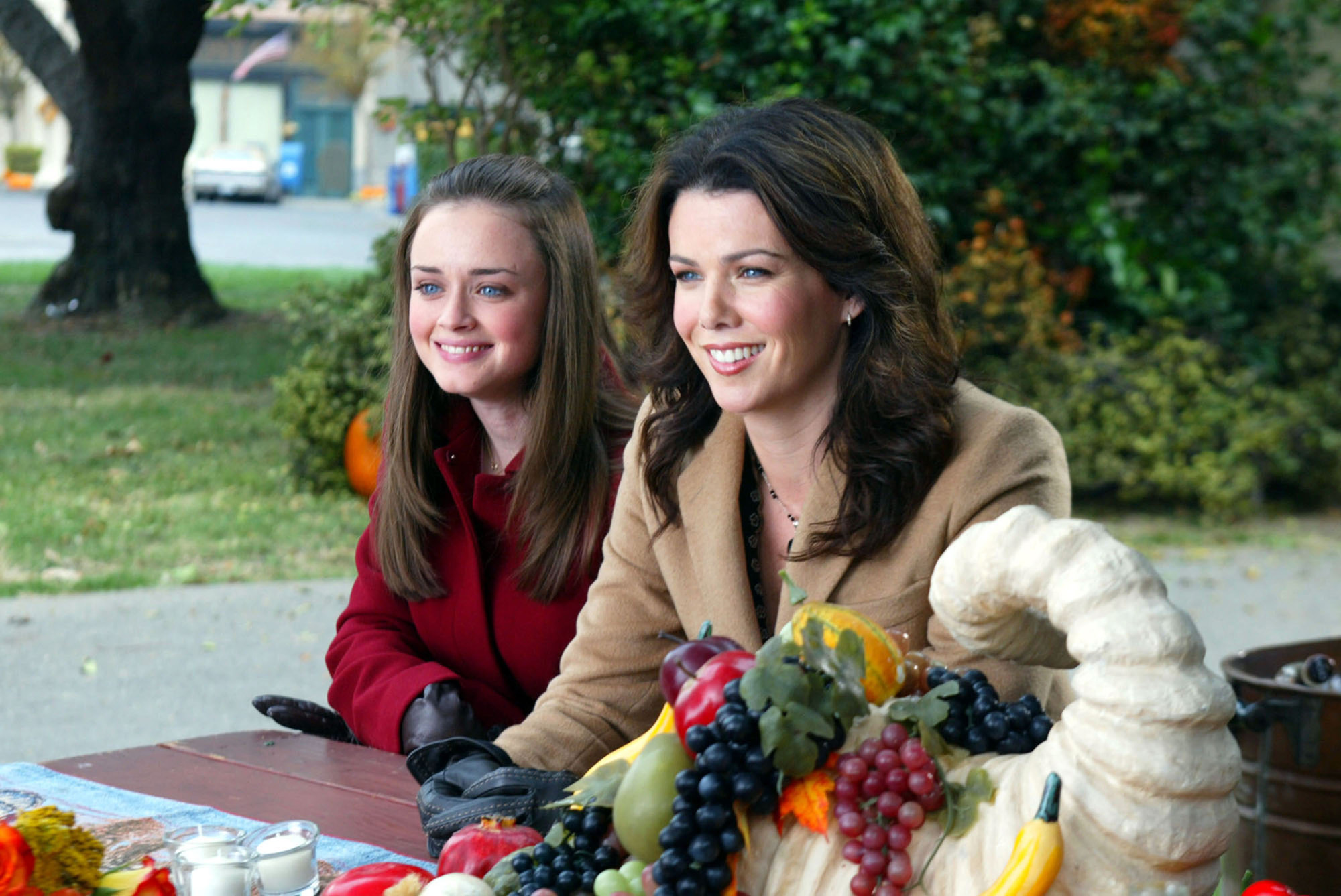 "We've got the first page from the ""Gilmore Girls: A Year in the Life"" script and we can't stop screaming"