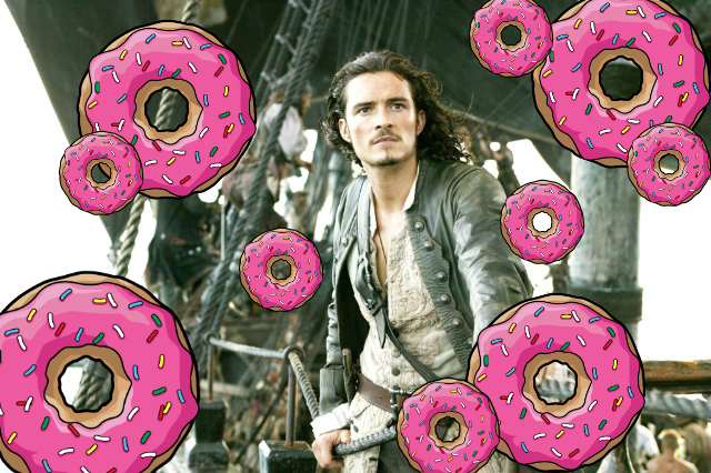Here's how you can get a DOZEN free donuts — you've just got to dress up like a pirate