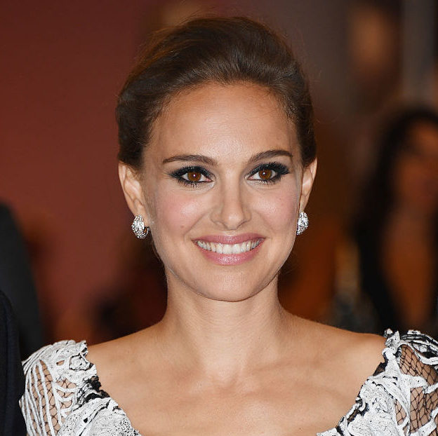 Natalie Portman looks like she's wearing a museum-worthy work of art in this dress