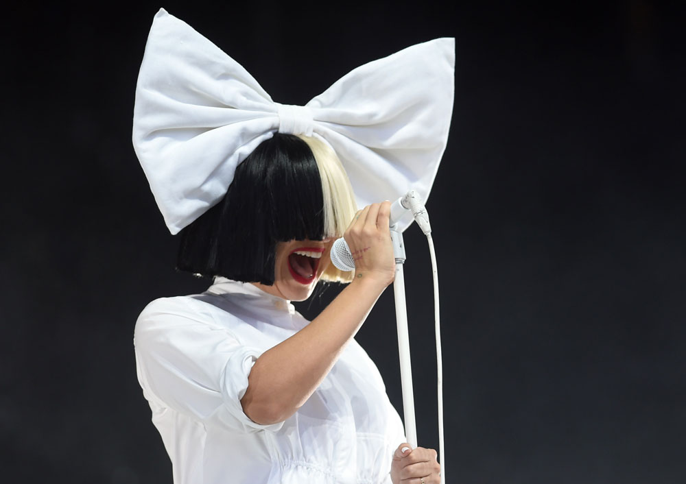 "Sia's new song ""Never Give Up"" is giving us all sort of Bollywood vibes and we're obsessed"