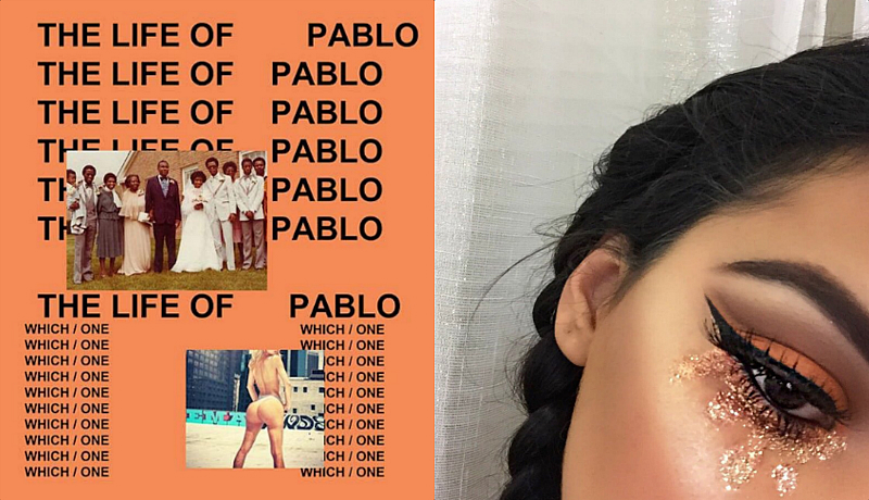 This teen uses Kanye West album covers as inspiration for her eye makeup and it is SO fierce