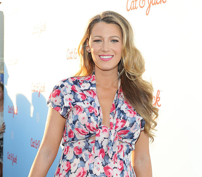 Blake Lively's first red carpet look has us SPEECHLESS
