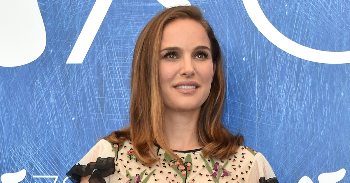 Natalie Portman's '70s inspired floral dress will give you serious throwback #fashiongoals