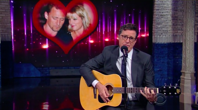 Stephen Colbert went ahead and wrote Taylor Swift's next breakup song and it's hilarious