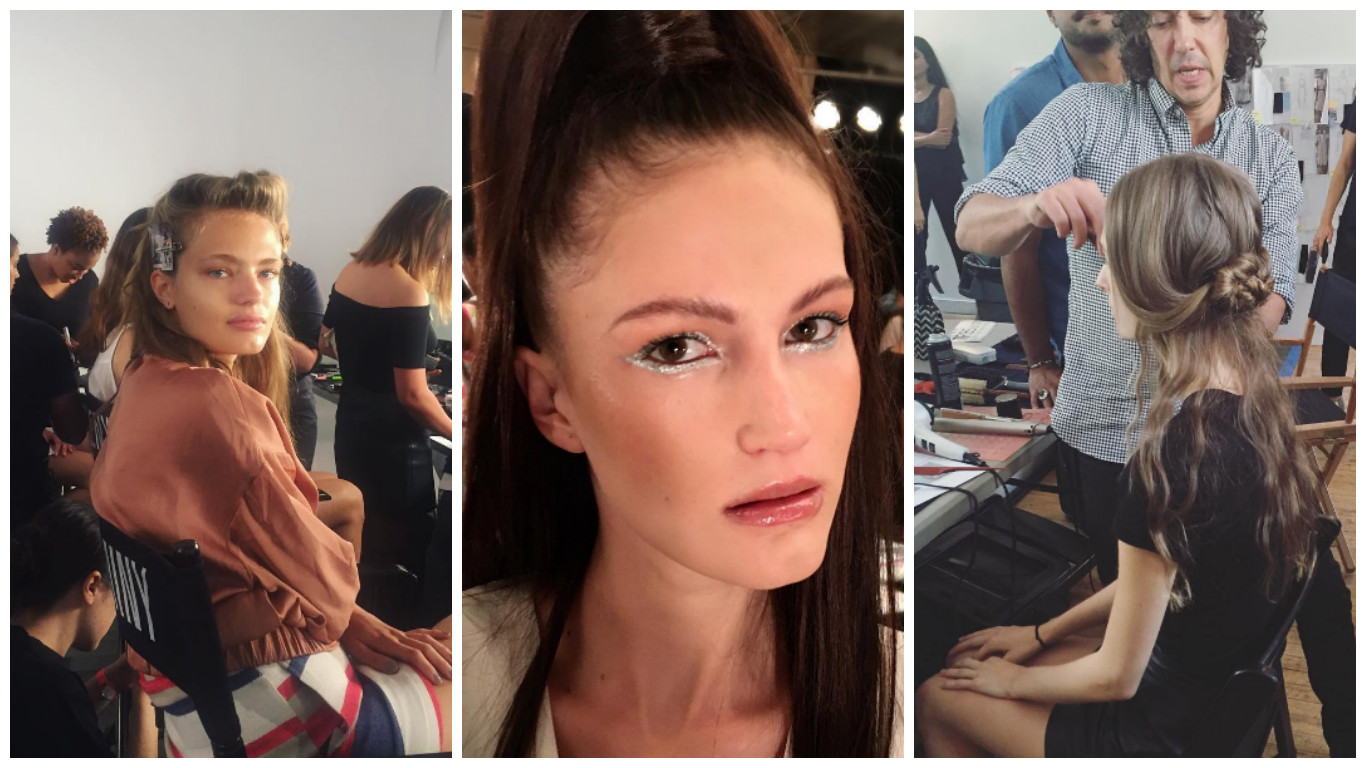 Here are the behind-the-scenes Instagram posts from NYFW you need to see