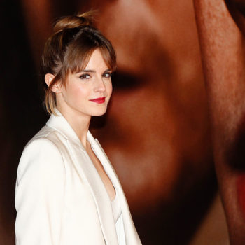 Emma Watson's first red-carpet look is so cutesy and SO 2001