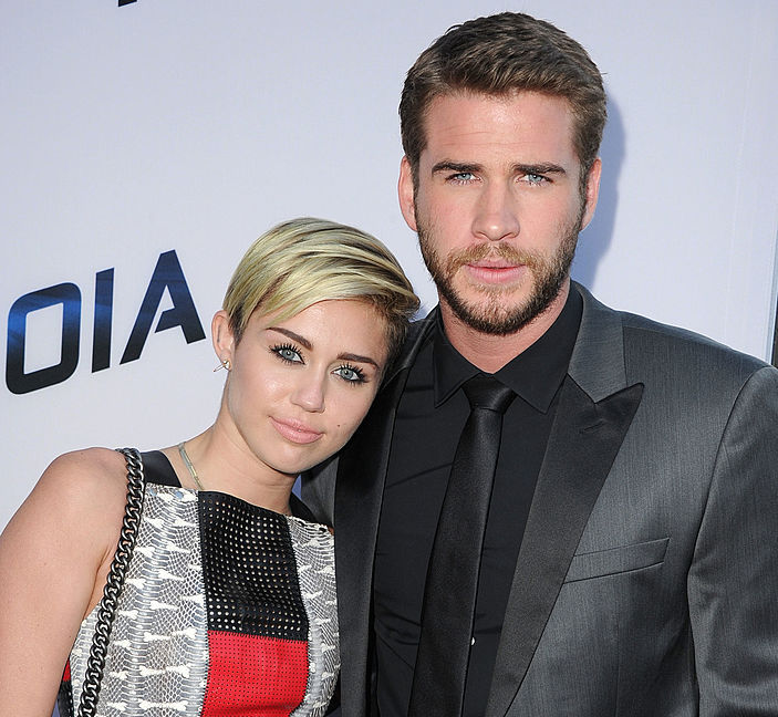 Liam Hemsworth just posted a major #tbt pic (featuring Miley Cyrus, obvs)