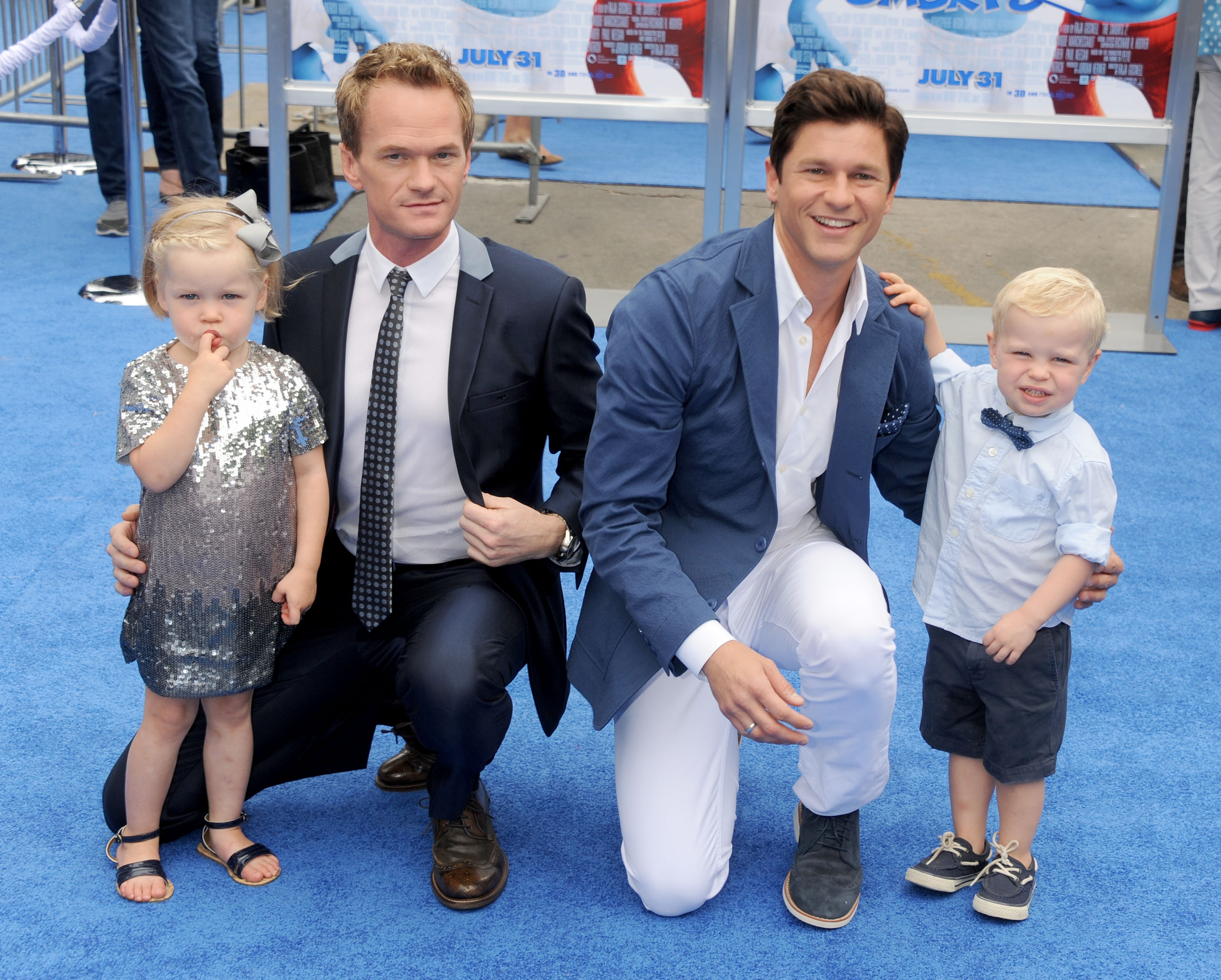 Neil Patrick Harris' kids are crazy fab on their first day of school