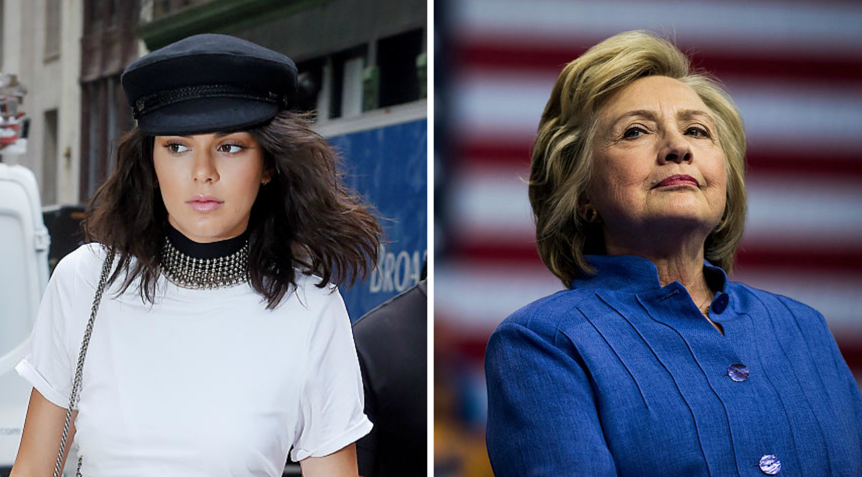 Kendall Jenner wants Hillary Clinton to wear this *one* outfit of hers