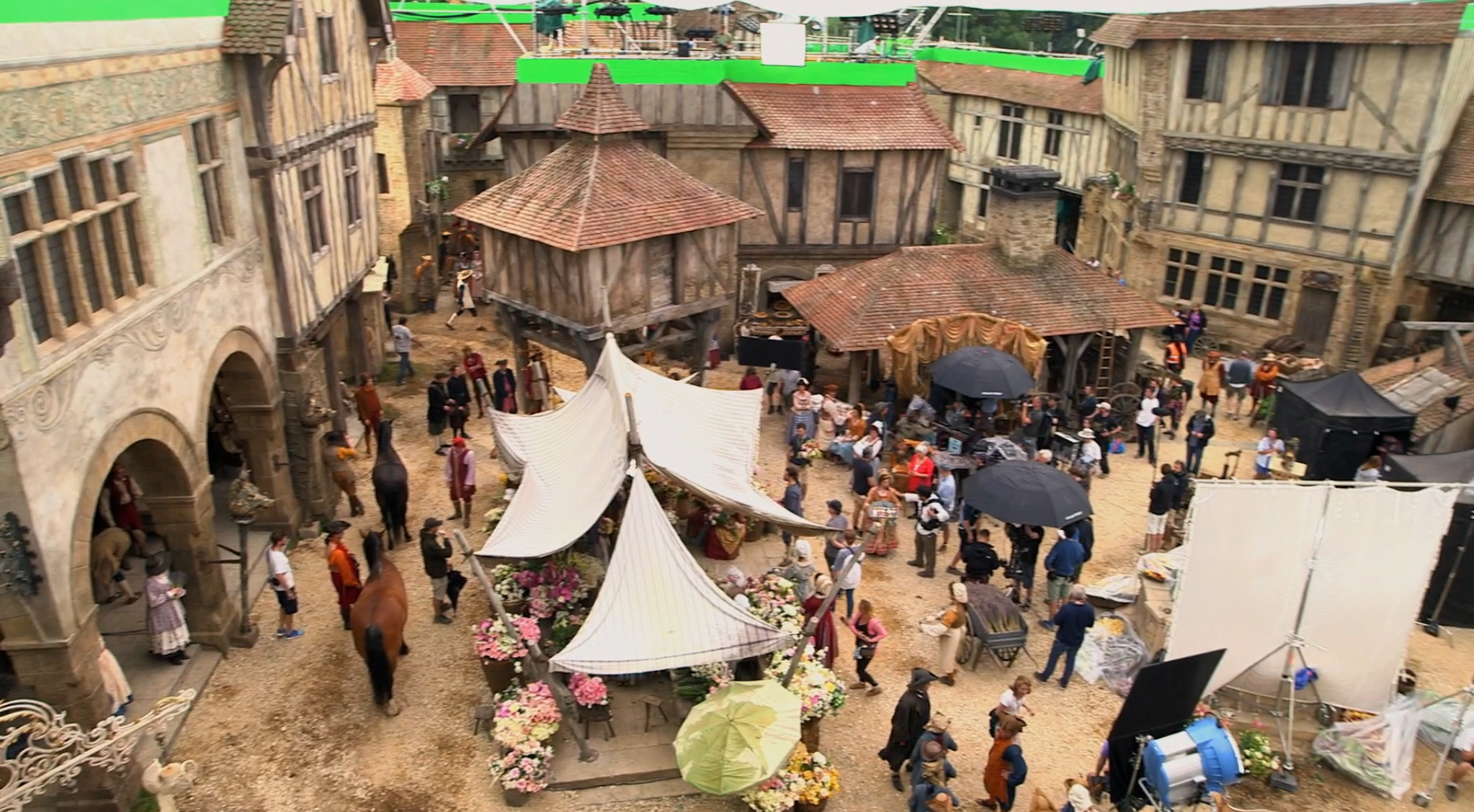Here 39 s what belle 39 s little town will look like in the live What s it like to live in a small town