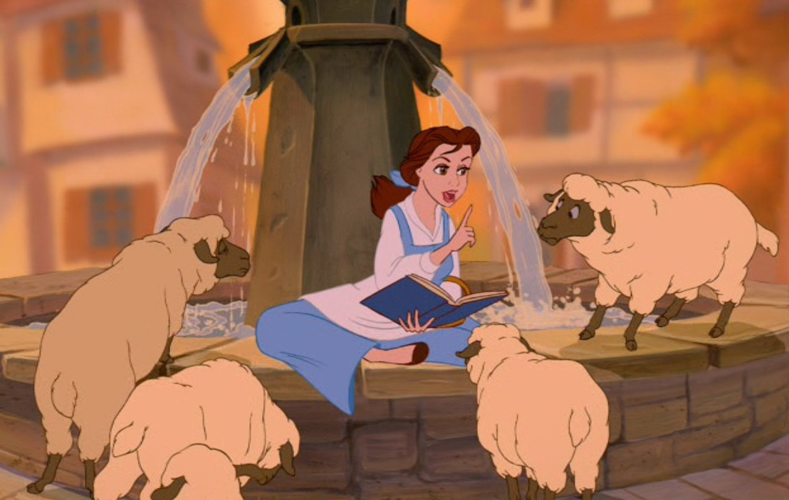 """Here's what Belle's little town will look like in the live-action """"Beauty and the Beast"""""""