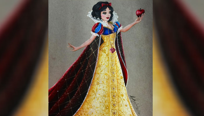 This is what Disney Princesses would look like after total glam makeovers