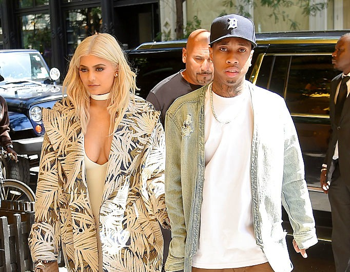 We now know why Kylie Jenner wears that gigantic diamond ring from Tyga