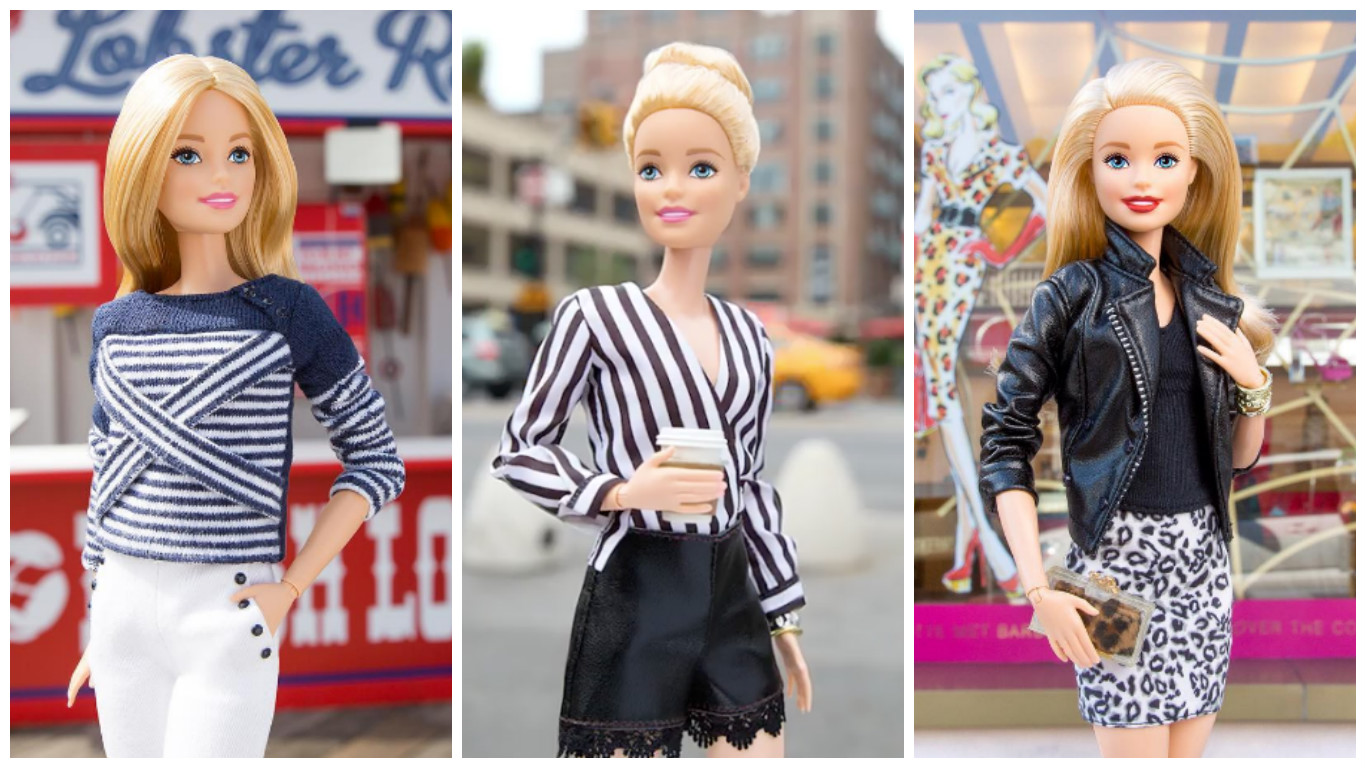 So, Barbie is having THE BEST time at New York Fashion Week