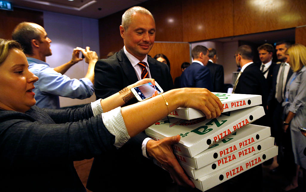 US diplomacy was just made easier thanks to a pizza party