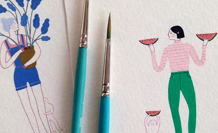 This illustrator turns everyday life into absolute beauty, and it's so calming