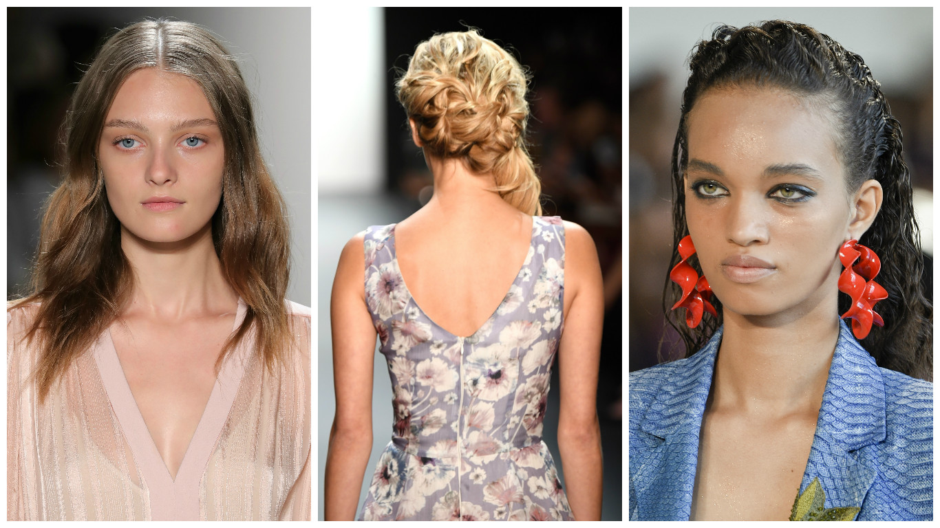 All the models at NYFW who gave us luxurious hair envy