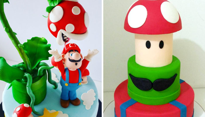 "17 adorable ""Super Mario"" themed cakes that seriously deserve a 1-up"